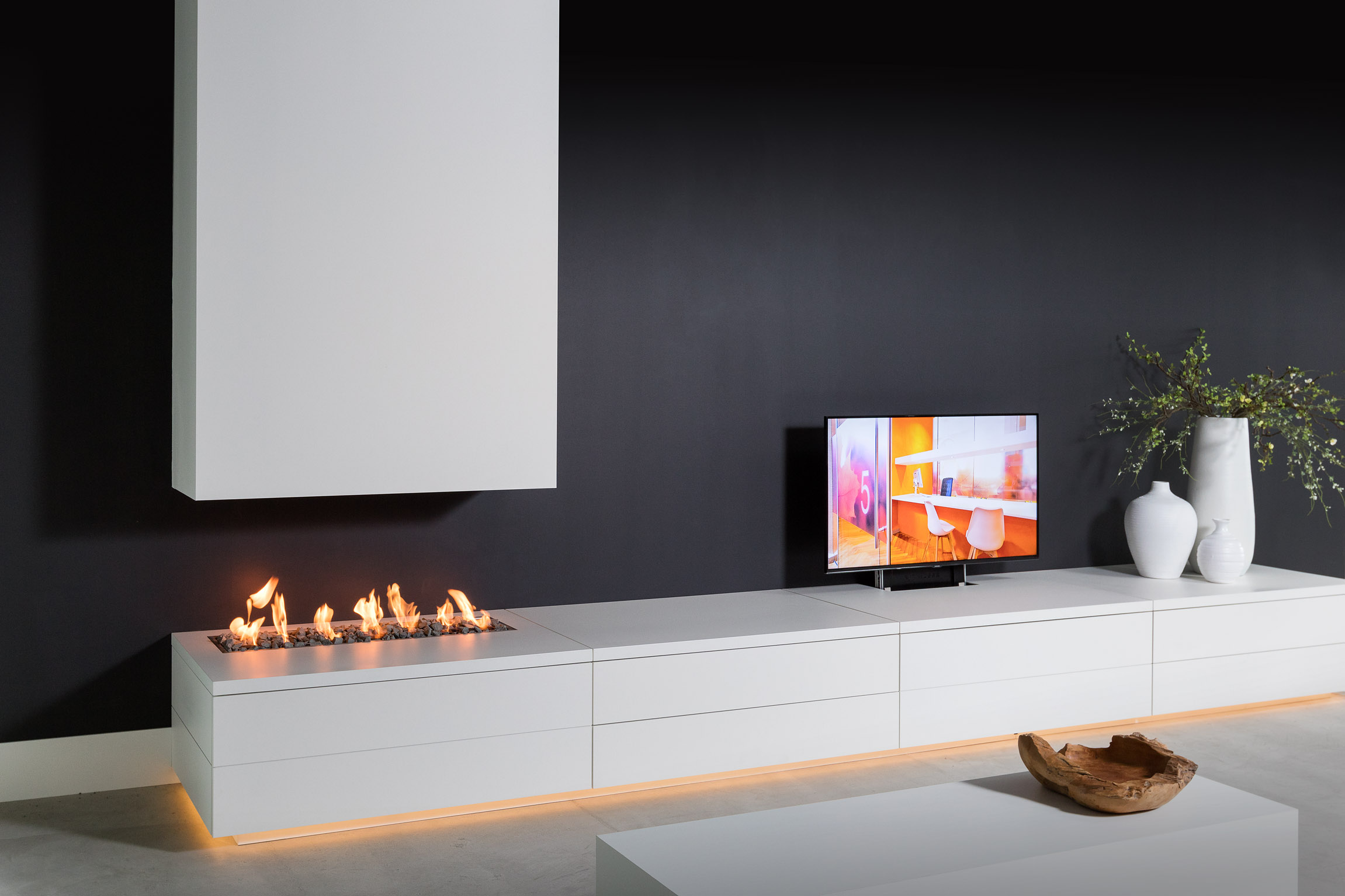Tv Meubel En Haard 1 Intrema Interieurbouw