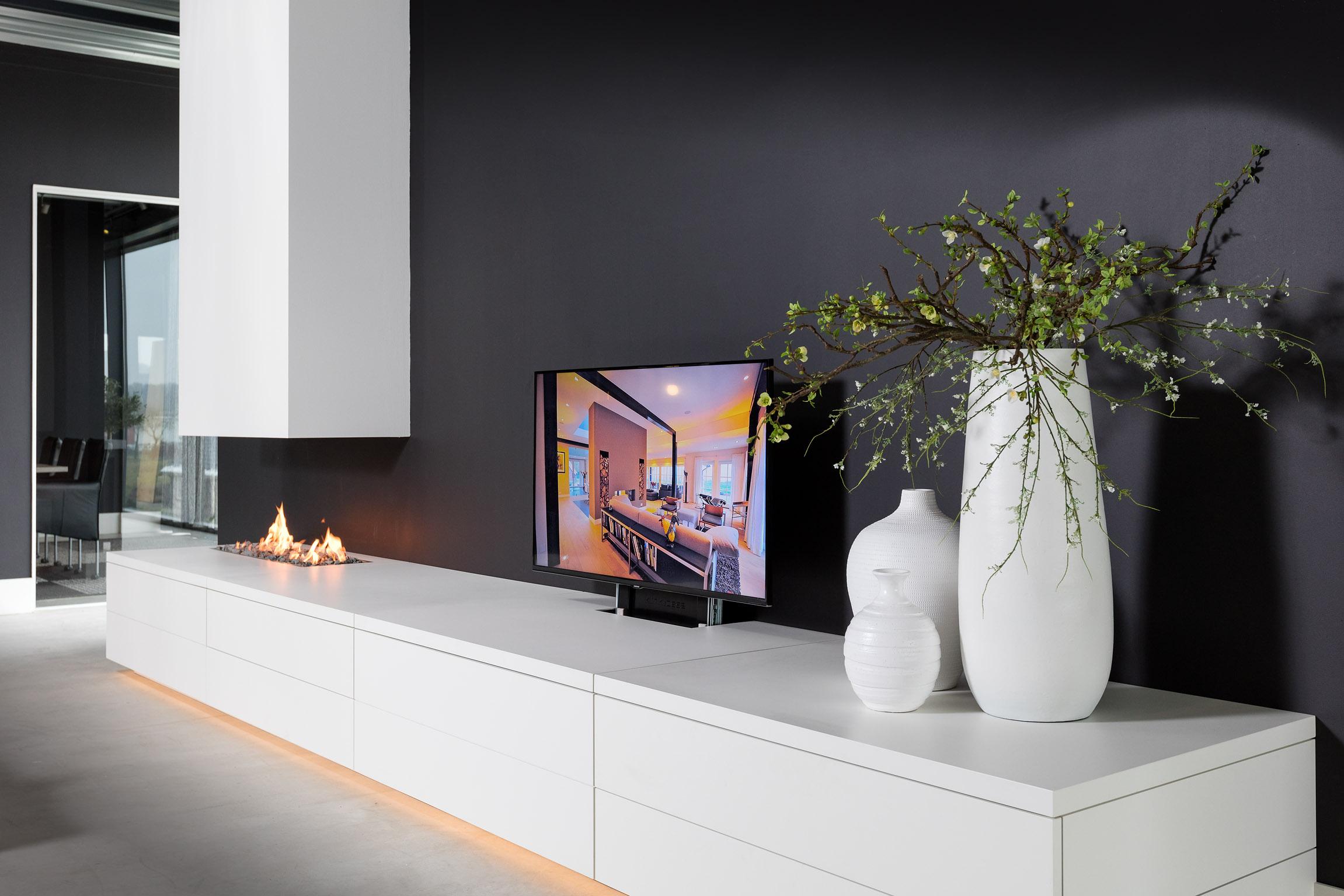 Tvmeubel Met Haard.Tv Meubel En Haard 2 Intrema Interieurbouw