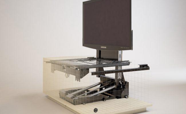 Computer En Tv Meubel.Tv Meubel 2 Intrema Interieurbouw