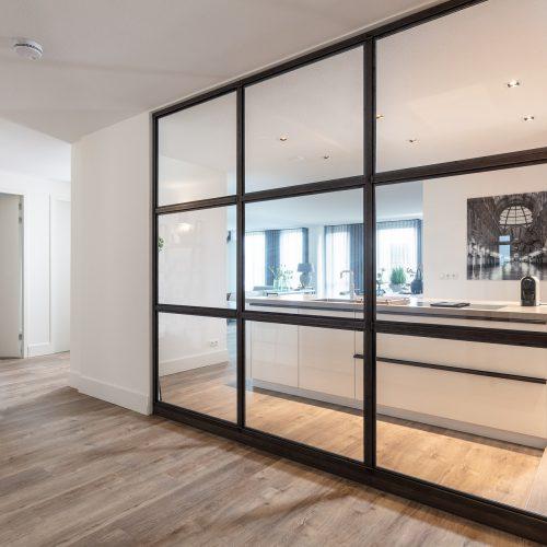 Appartement Enschede spiegelwand